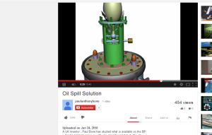 Paul Sayers Bone BP Oil Spill 2010 Solution